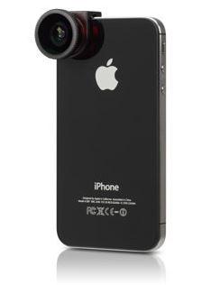 Объектив, чехол incase Quick-Connect (фото Apple)