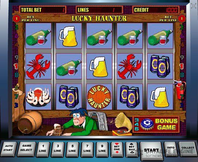Игровой автомат lucky haunter обзор
