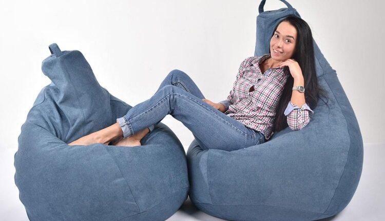 Бескаркасная мебель — кресла-мешки