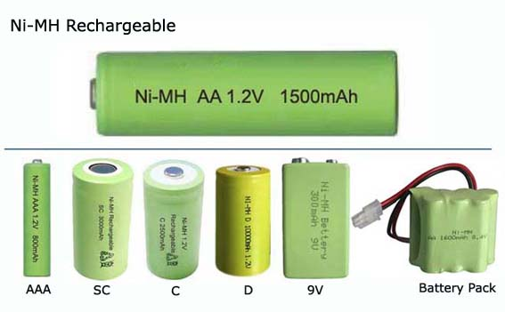 NiMH батарейки фото