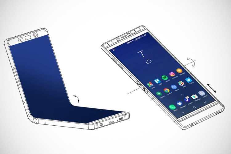 Galaxy X с гибким екраном