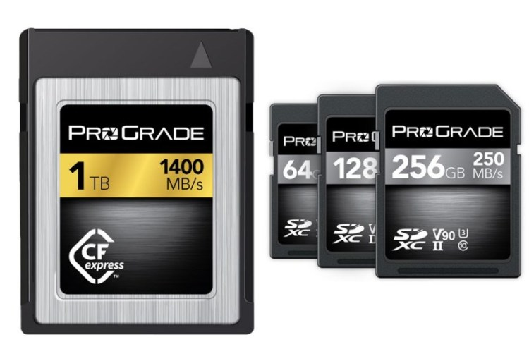 The first memory card CFexpress 1TB capacity and superfast