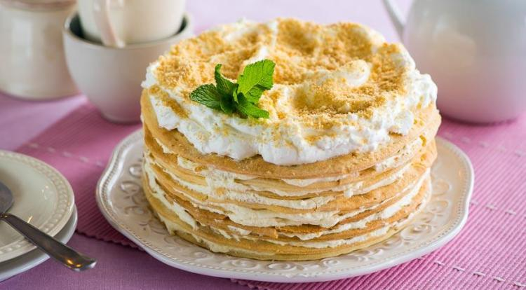торт наполеон классический фото
