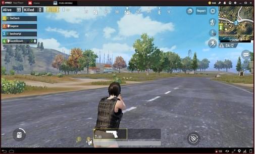 играть в PUBG через MSI App Player