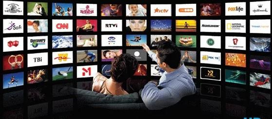 кабельное или спутниковое телевидение