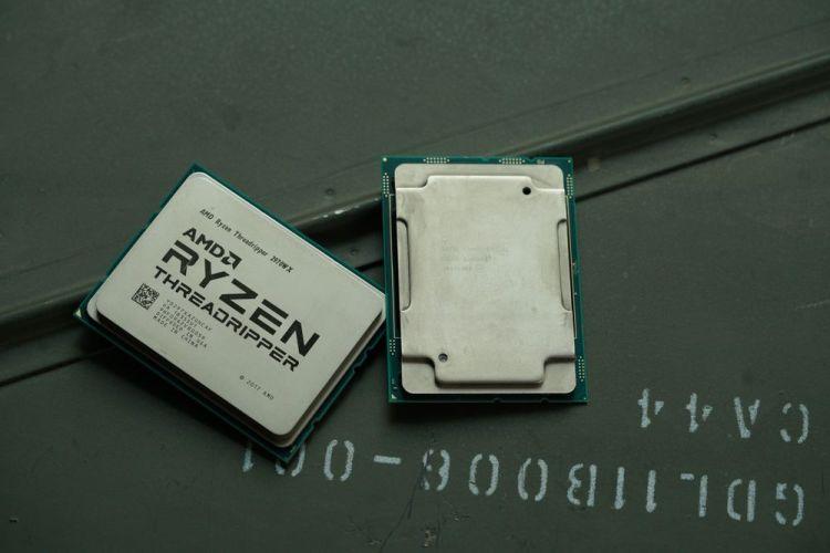 Intel Xeon В-3175X и AMD Ryzen Threadripper 2970WX (фото: PCWorld)