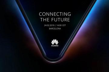Компания Huawei собирается представить складной смартфон на выставке MWC 2019
