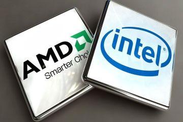 Продажа процессоров вначале года - модели AMD по-прежнему самые популярные