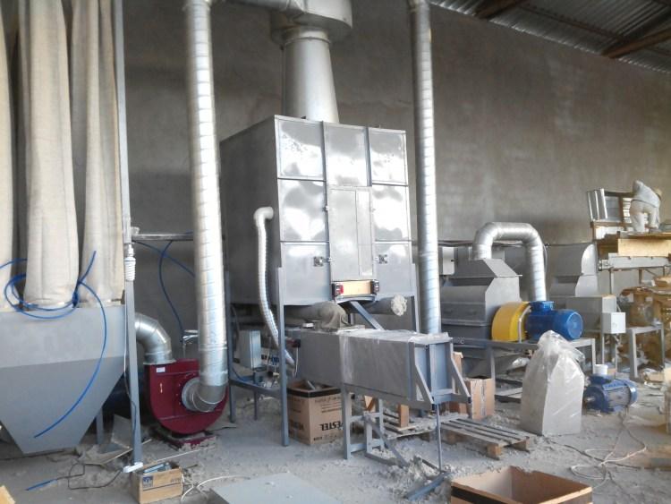 Вентилятор Пылевой на производстве