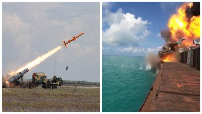 """Украинский """"Нептун"""" успешно поразил цель во время последних испытаний"""