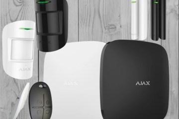 Беспроводная GSM сигнализации Ajax StarterKit. Фото