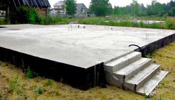 Переваги плитного фундаменту у будівництві невеликих будинків