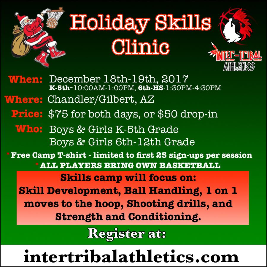 Holiday Skills Clinic Arizona