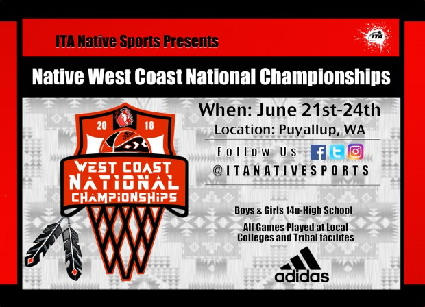 Native west coast national championships flyer