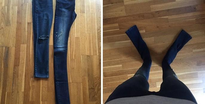 calça menor