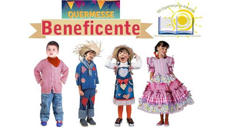 Arraiá Creche Esperança do Amanhã para angariar fundos em Ribeirão Preto