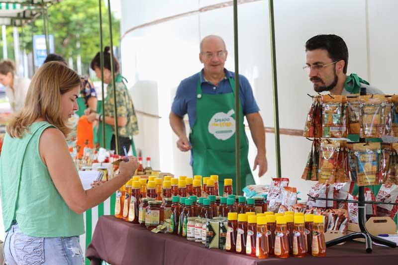 RibeirãoShopping promoveu Feira de Produtos Orgânicos e Naturais