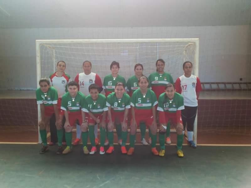 Equipe de Futsal feminino de Cravinhos está nas Oitavas de Final do Campeonato Paulista & Sul Minas