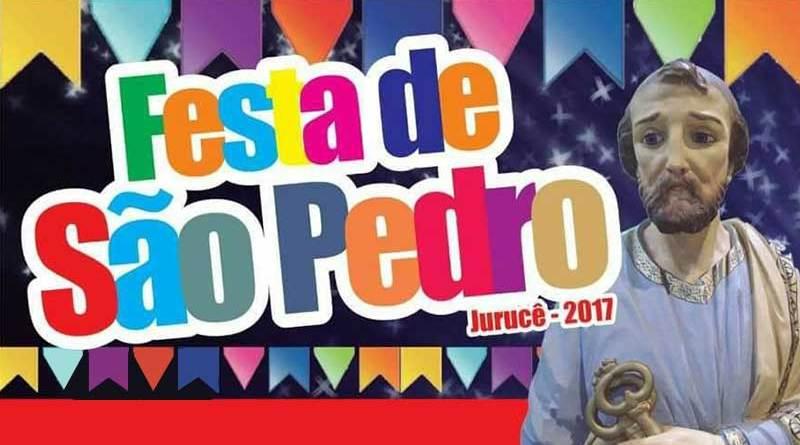 Festa de São Pedro em Jurucê atrai centenas de fiéis