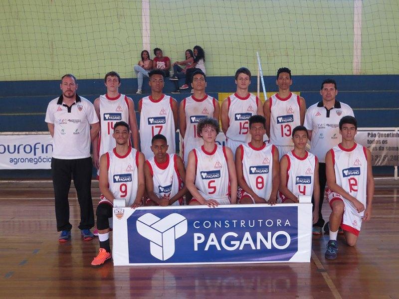 Equipe Sub-16 de Cravinhos conseguiu superar o time de Santos