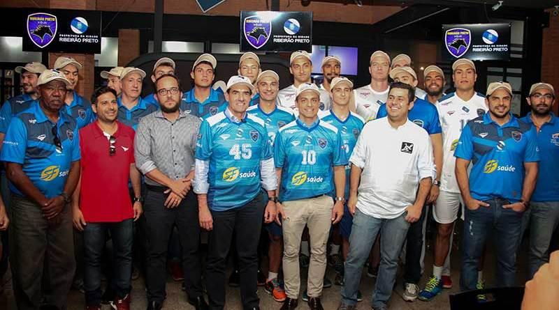 Evento no LOL Sports Bar marca lançamento dos uniformes do Vôlei Ribeirão
