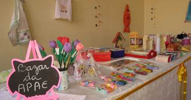 APAE realiza Bazar de Artesanato na Casa Libaneza