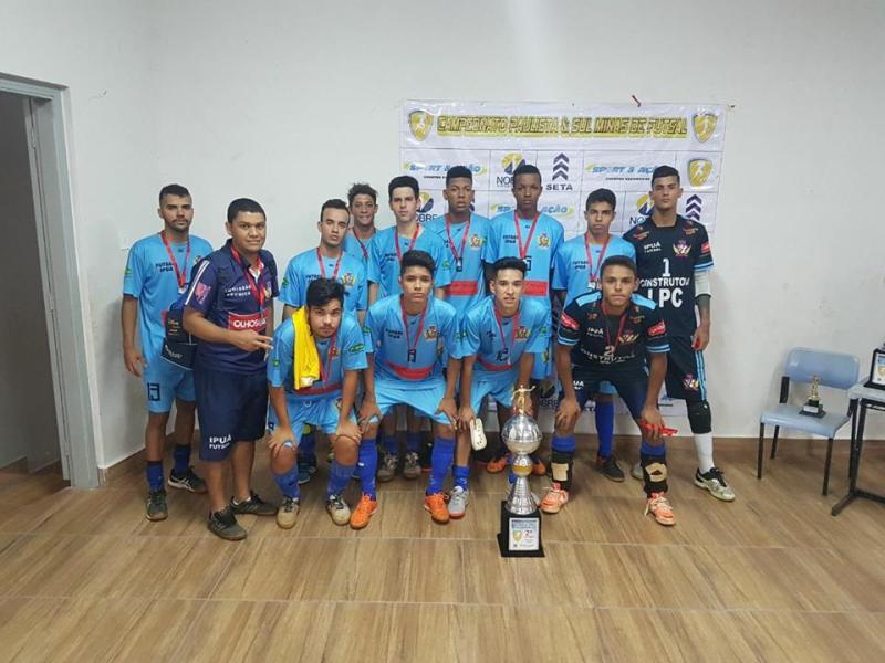 Time de Ipuã ficou com o vice-campeonato