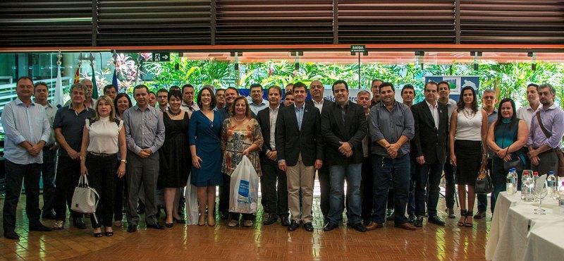 Prefeitos de 45 municípios assinaram o Termo de Cooperação com a entidade Seja Digital