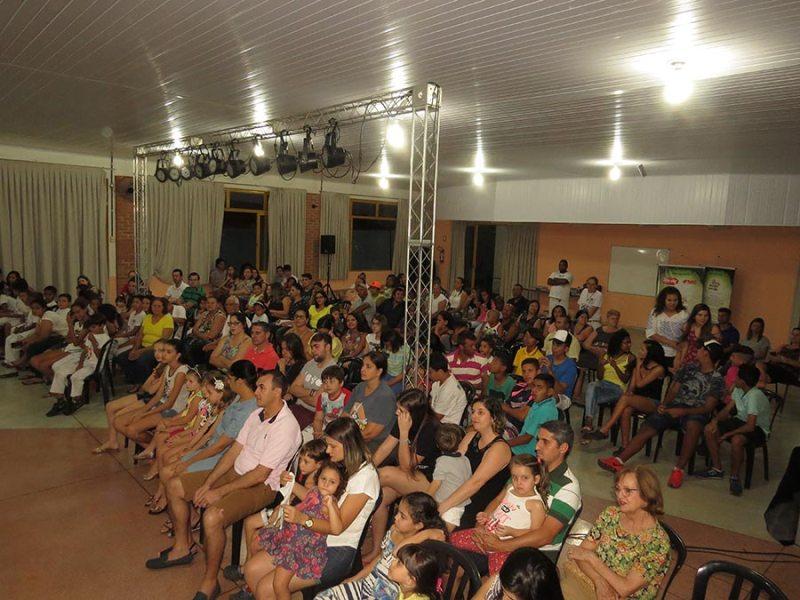 Grande público participou das apresentações da peça teatral