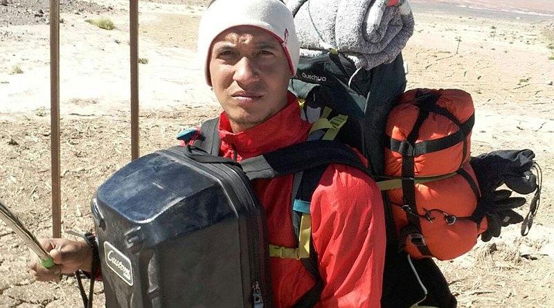 Ribeirãopretano é o primeiro brasileiro a cruzar o Deserto do Atacama a pé
