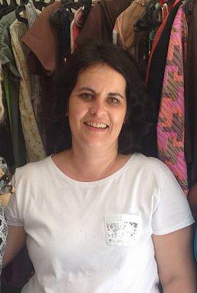 """Joceli Dutra, é proprietária do """"Brechó da Jô"""", e sempre quis trabalhar com moda, mas de um jeito diferente"""