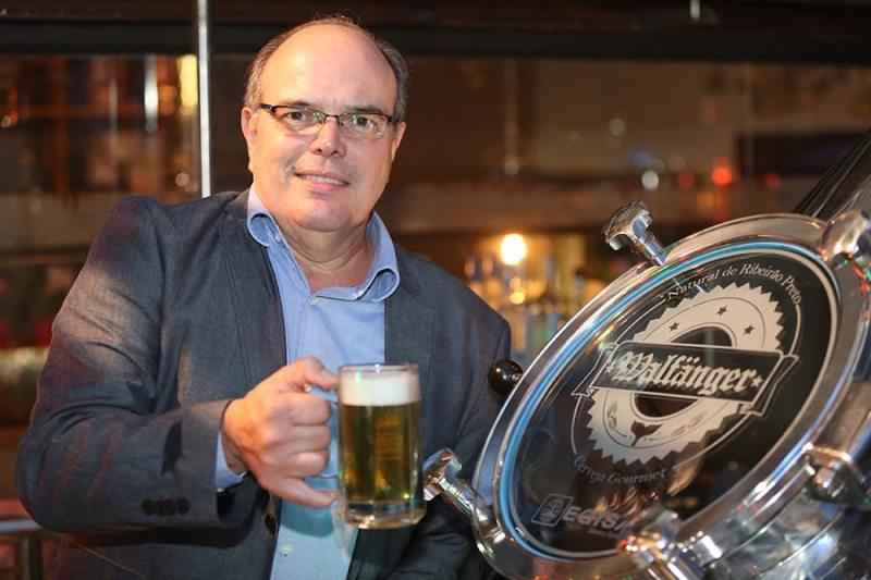 Augusto Balieiro é um dos sócios-proprietários e fundador da Cervejaria Walfänger