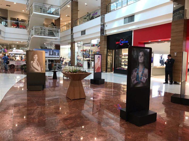 Shopping Santa Úrsula promove exposição e palestras do Outubro Rosa