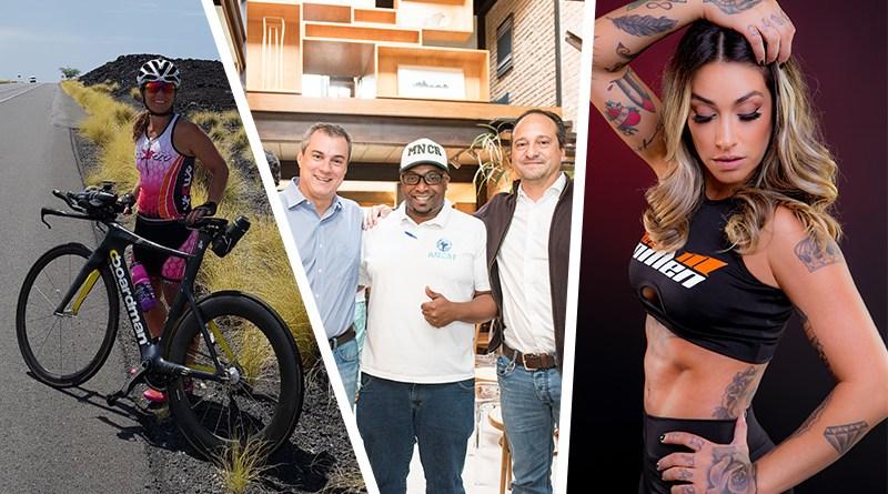 """Dani Bolina, CNA, Mundial de Ironman, Ambev, Coca-Cola, """"Tocando e Encantando"""", ACIRP e mulheres empreendedoras"""