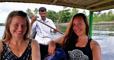 Índia: Allepey, a Veneza do Leste