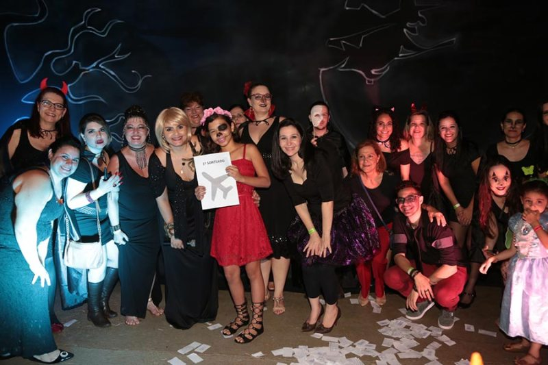 Festa de Halloween do CNA reúne criatividade e figurinos assustadores