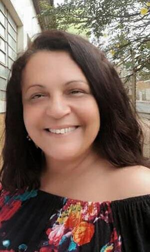 A coordenadora do Acessa São Paulo de Cravinhos e idealizadora do projeto, Márcia Sanches