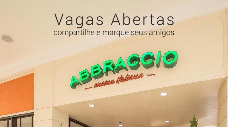Restaurante Abbraccio Cucina Italiana abre 10 vagas em Ribeirão Preto