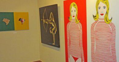 Artista plástico expõe suas 'Expressões'
