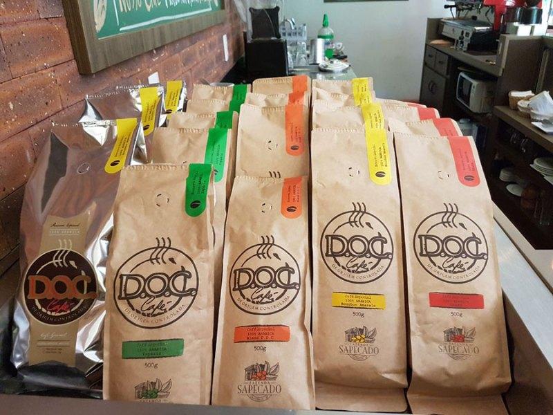 linhas de café doc cravinhos fazenda santa maria