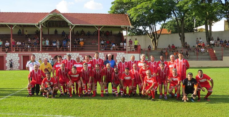 Equipe de Máster do Clube Atlético de Cravinhos