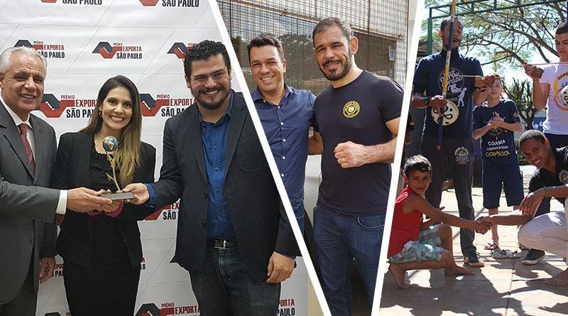 Espaço de lazer, Hospital de Câncer, Minotouro, Natal Solidário, Exporta São Paulo e Corafest