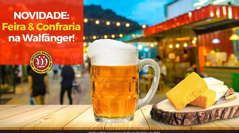 Feira & Confraria é novidade na Cervejaria Walfänger