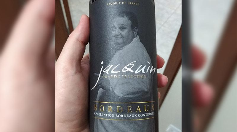 "Vinho com ""tomperro"" do Jacquin"