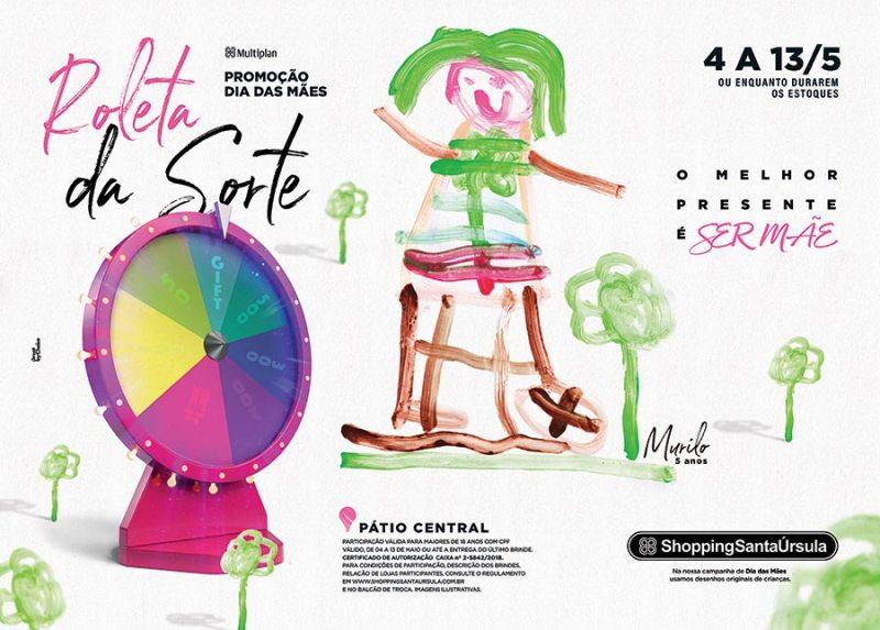 Campanha de Mães do Shopping Santa Úrsula sorteia mais de 2.500 prêmios