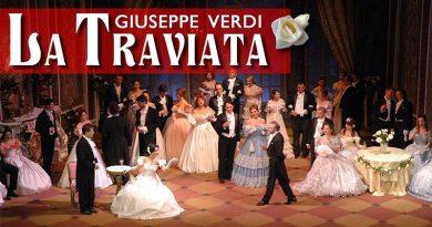 Opera La Traviata se apresenta no Teatro Pedro II no dia 29 de maio