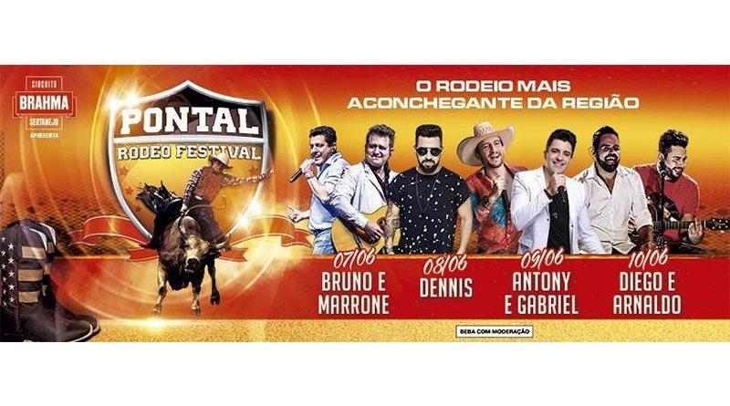 Rodeio de Pontal terá grandes atrações e novidades