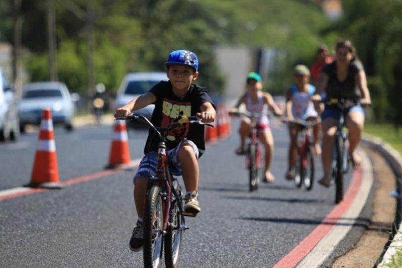 Stéfani Nogueira patrocina a Ciclofaixa em Ribeirão Preto