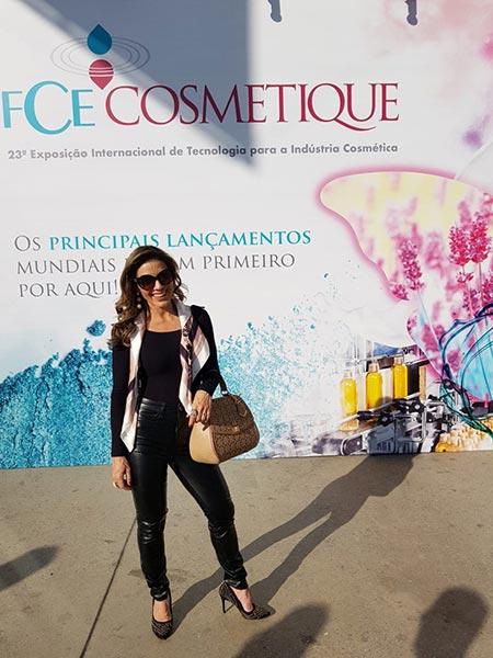 Digital influencer de Ribeirão Preto participa da FCE Cosmetique