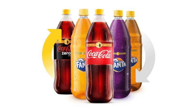 Coca-Cola Brasil promove nova campanha para estimular uso de embalagens retornáveis